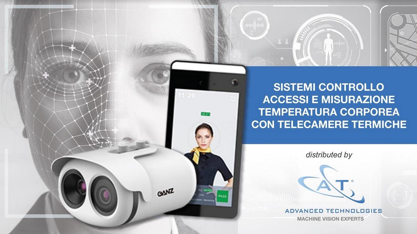 AT, controllo accessi e rilevazione della temperatura