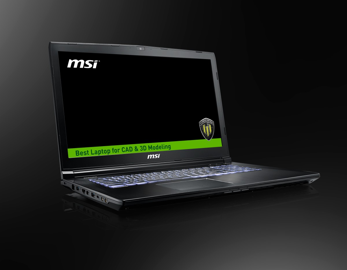 Workstation MSI WE72