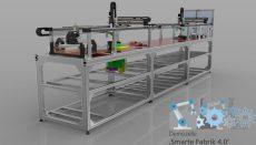 gemello digitale sincronizzato in tempo reale con il sistema di produzione reale