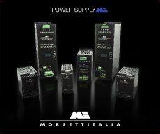 Da Morsettitalia SpA una nuova serie di alimentatori switching per quadro elettrico pronti per l' Industria 4.0