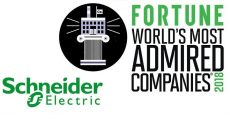 Schneider Electric nella lista World's Most Admired Companies 2018 di Fortune