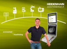 Heidenhain alla Fabbrica Digitale di MecSpe 2018