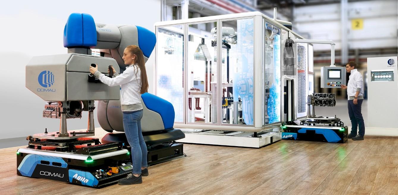 L'approccio Comau ad A&T - Automation & Testing