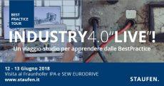 """Industria 4.0 """"Live!"""" alla Staufen"""