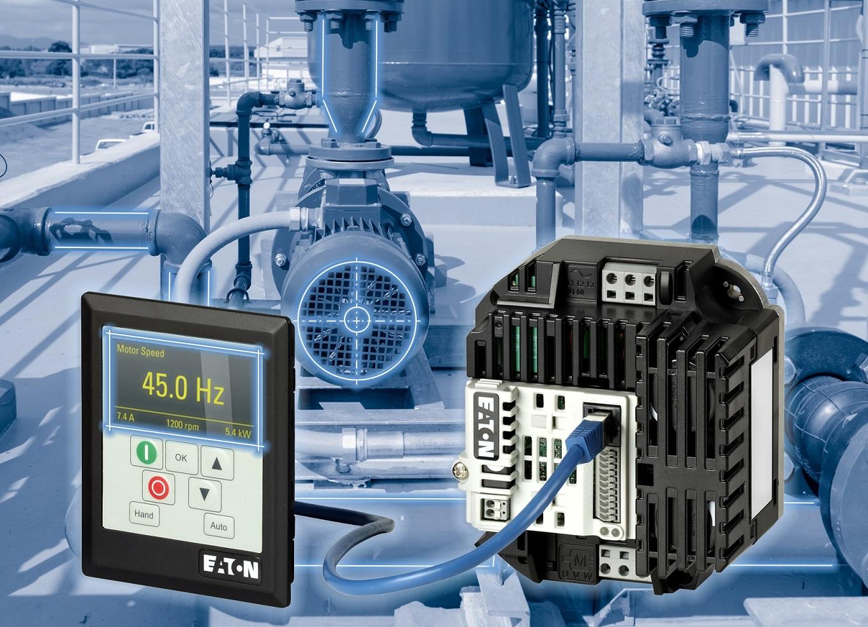 Controllo della frequenza in spazi ristretti dal convertitore DB1 di Eaton