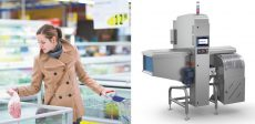 Sistema a raggi X per contaminanti alimentari di piccole dimensioni