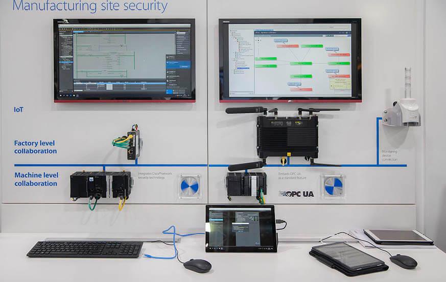 Omron collabora con Cisco nell'innovazione della produzione