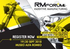 RM Forum 2018, ad Arese (MI) lo stato dell'arte nell'AM (Additive Manufacturing)