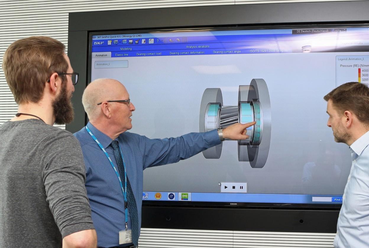 SKF e Romax Technology alla prima conferenza eDSIM