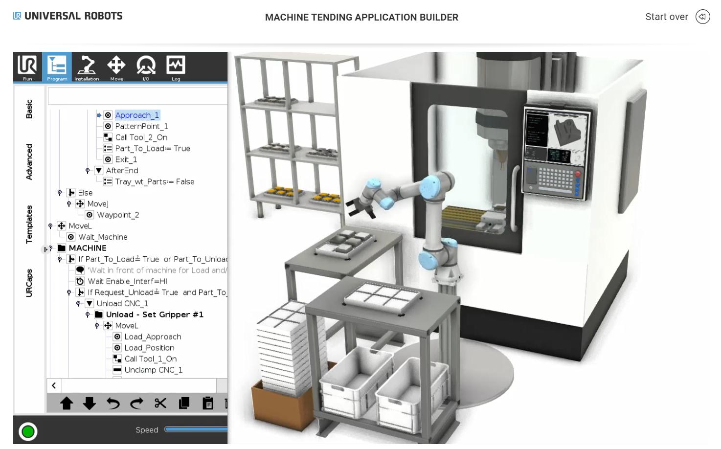 Universal Robots presenta Application Builder, il tool per costruire con semplicità un'applicazione robotizzata.