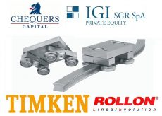 Chequers Capital e IGI Private Equity finalizzano la cessione di Rollon a The Timken Company