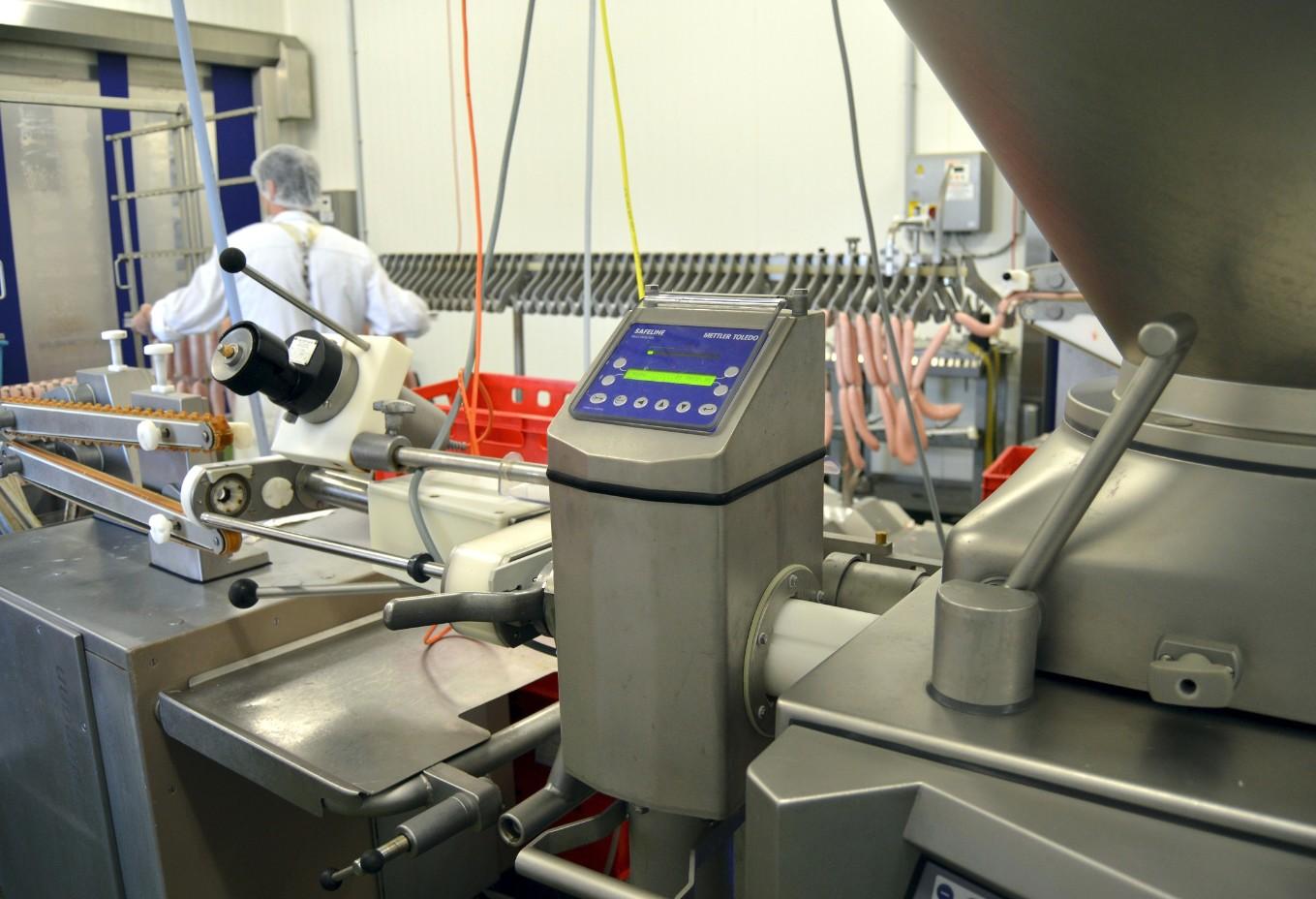 Rivelatore metalli contro la contaminazione