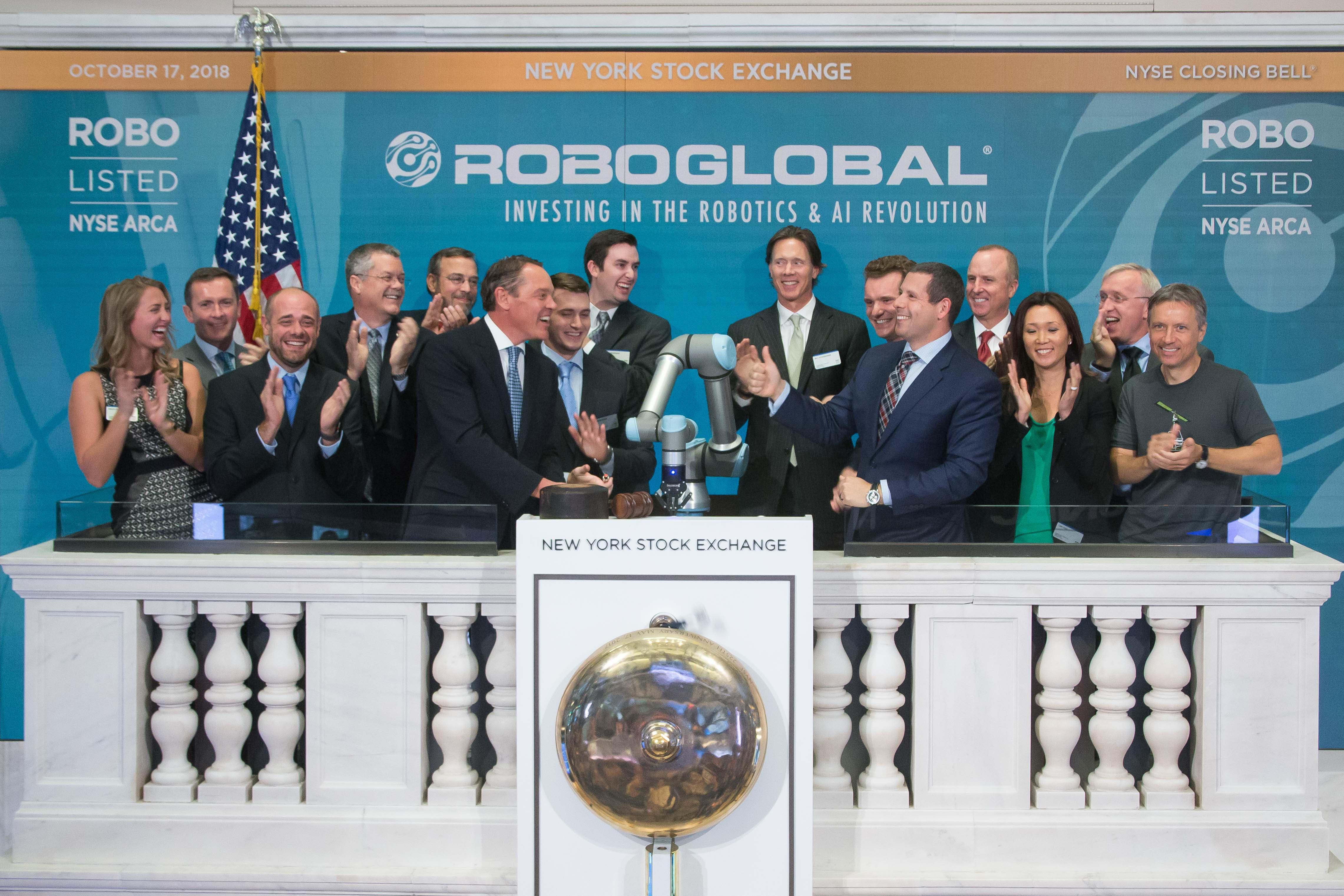 Universal Robots suona il campanello di chiusura della Borsa di New York