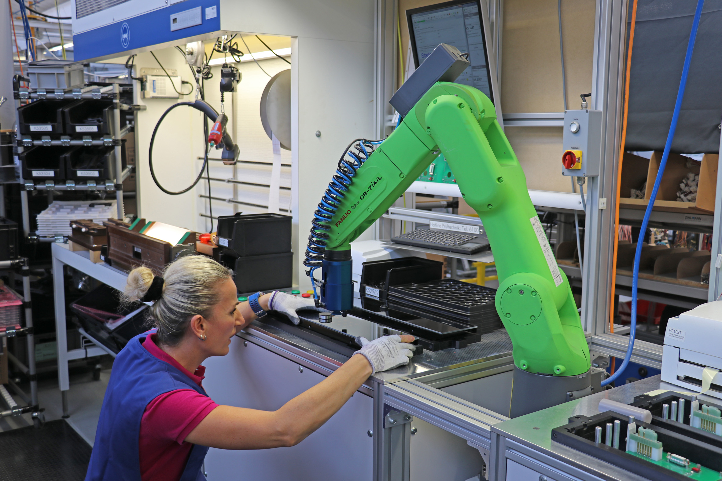 Robot industriali e cobot, trend europeo in ascesa