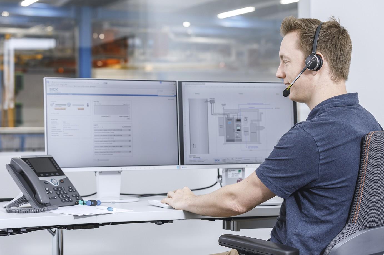 Sick presenta Condition Monitoring e Remote Service per la manutenzione preventiva e il supporto tecnico