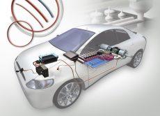 Soluzioni di prodotto Engineered Materials Group Parker per la mobilità elettrica