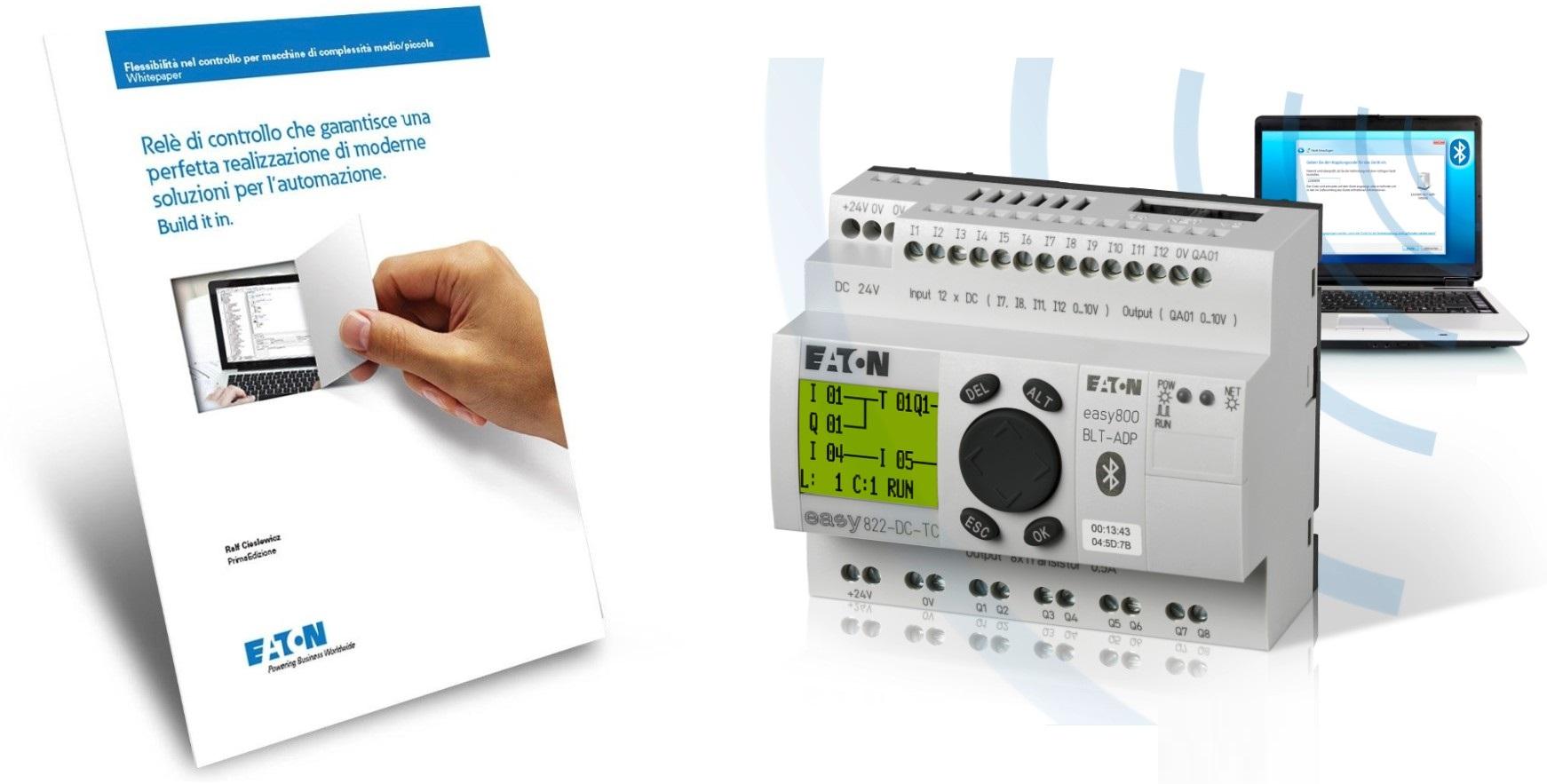 Eaton, nuovo whitepaper sul realizzare soluzioni d'automazione moderne con nuovi smart relè
