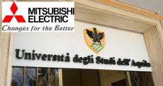 Formazione al centro, Mitsubishi Electric e Università degli Studi dell'Aquila