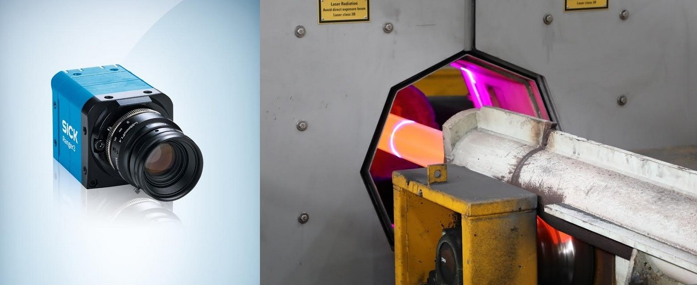 Ispezione 3D in un'acciaieria, per Ranger3 di Sick nessun problema è scottante