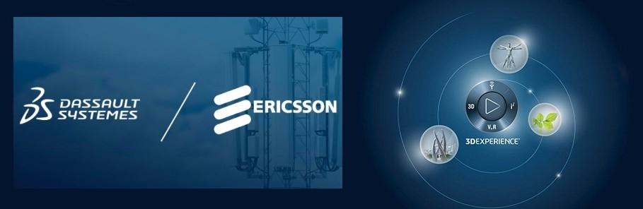 Dassault Systèmes ed Ericsson insieme per l'implementazione della 3DExperience Platform