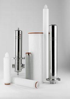 Atlas Copco sacchi filtranti, cartucce e contenitori per la filtrazione di liquidi e di gas
