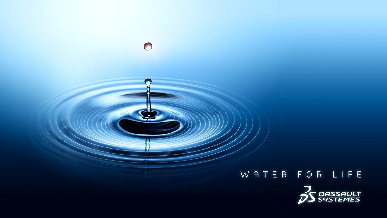 """""""Water for Life"""", Dassault Systèmes per un consumo industriale dell'acqua più sostenibile"""