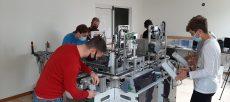 Gli studenti ITS progettano il macchinario per le mascherine chirurgiche