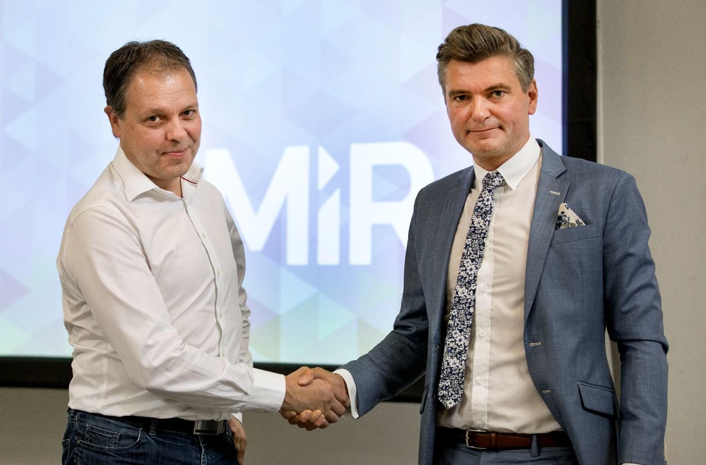 Cambio al vertice di MiR, Nielsen nuovo CEO dal 1° agosto