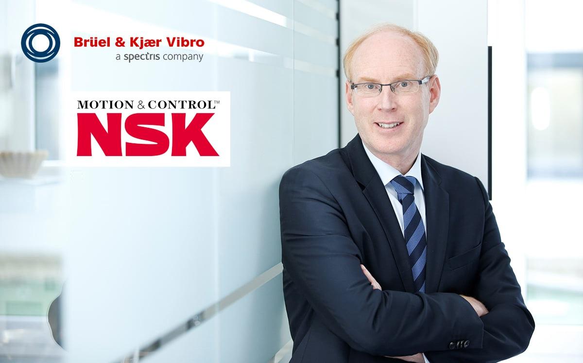 NSK acquisisce Brüel & Kjær Vibro, ai vertici nel Condition Monitoring