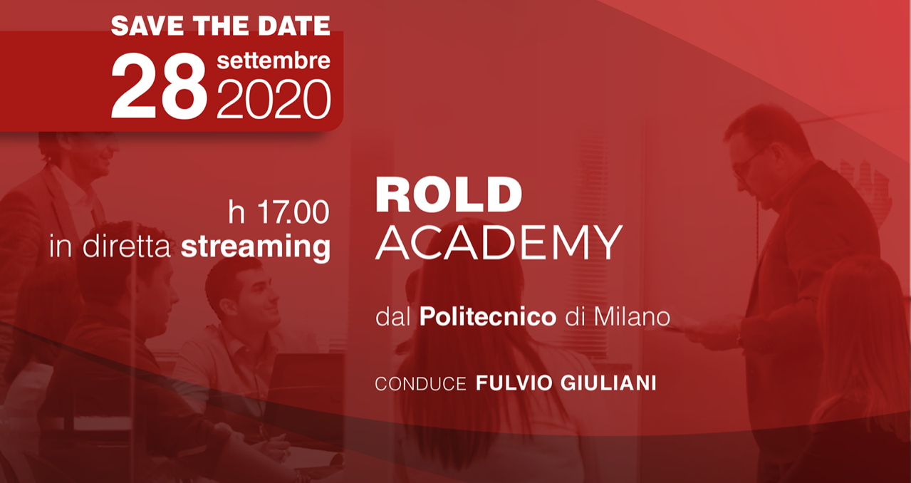 Rold Academy, lancio in streaming