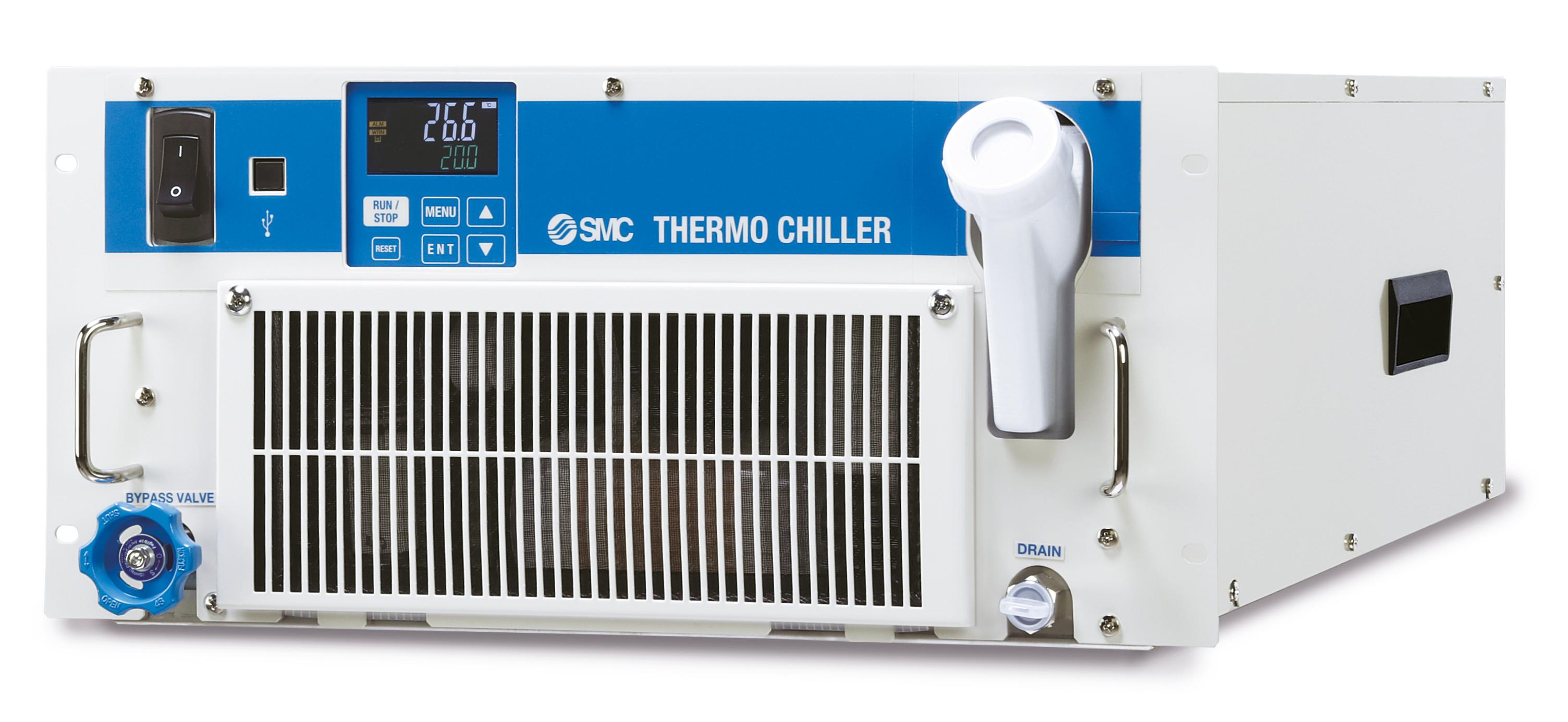 SMC Thermo-Chiller per montaggio su rack