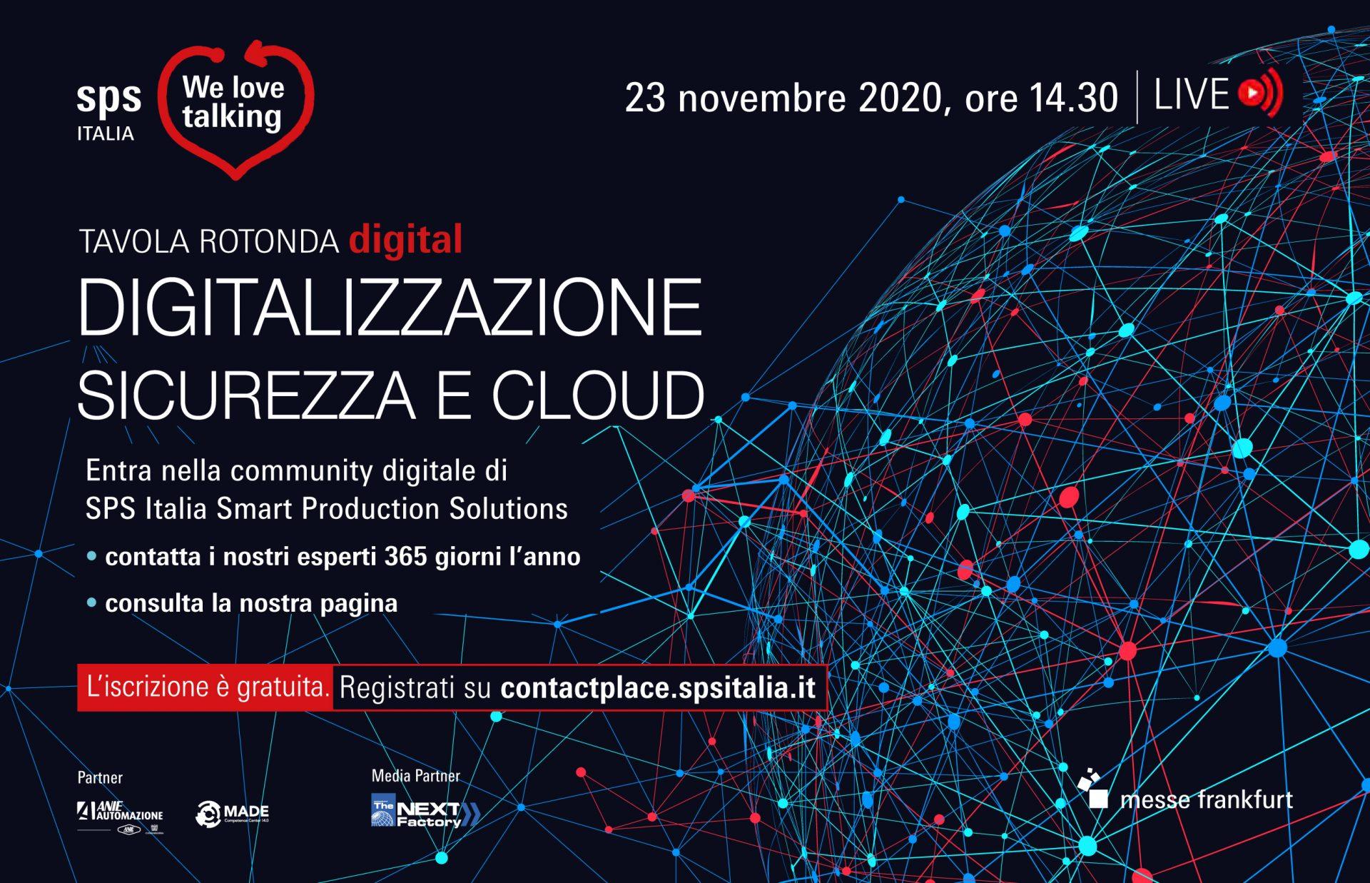 Digitalizzazione, sicurezza e cloud SPS Italia