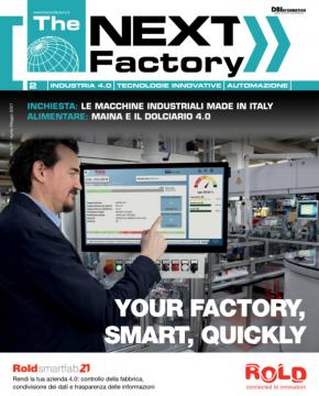 Copertina The Next Factory - Maggio 2021