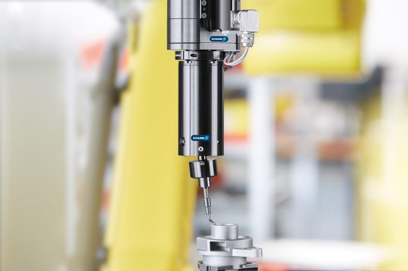 Accessori Schunk per la finitura superficiale robotizzata