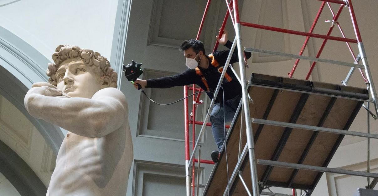 Innovazione e patrimonio artistico, Hexagon a Expo 2020 Dubai sponsor dell'Italia con la digitalizzazione del David di Michelangelo