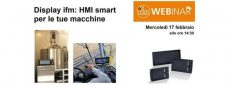 Nuovo webinar ifm electric, sull'HMI smart