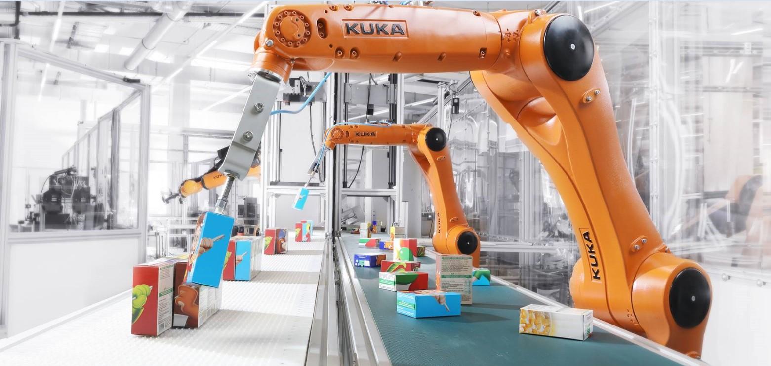 L'offerta Kuka per il settore Consumer Goods