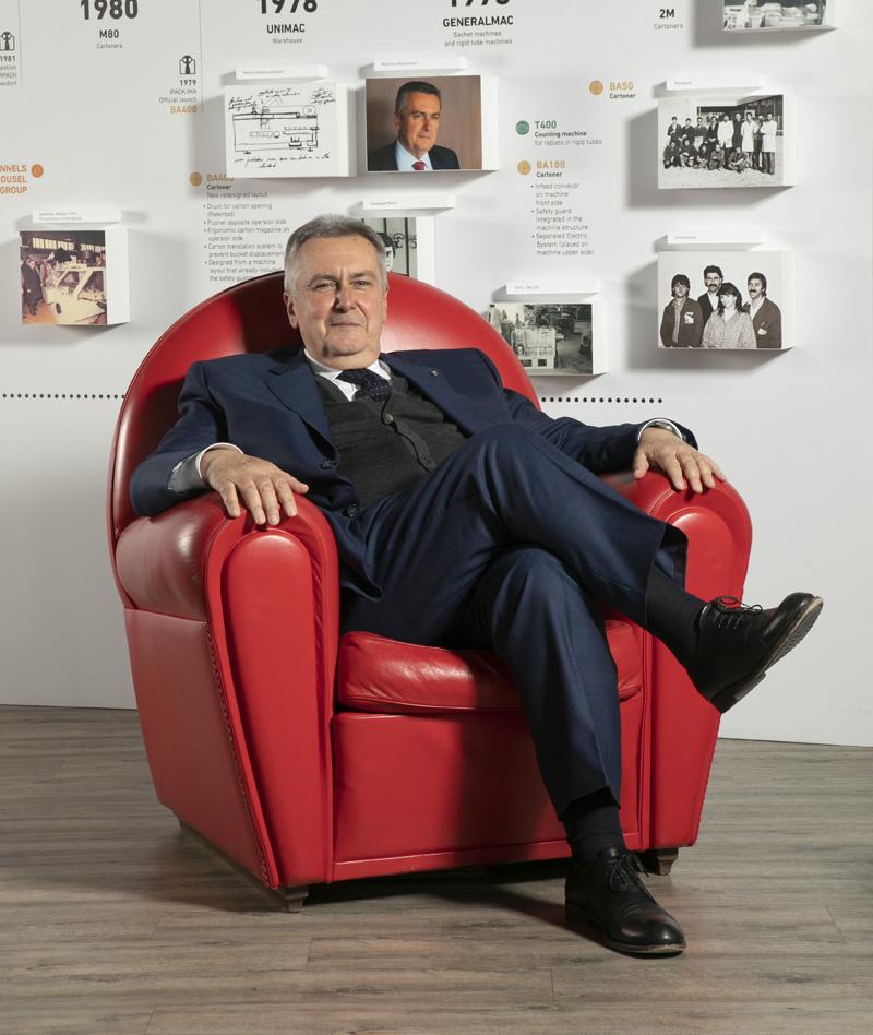 Maurizio Marchesini, Presidente di Marchesini Group Spa e Vice Presidente per le Filiere e le Medie Imprese di Confindustria.