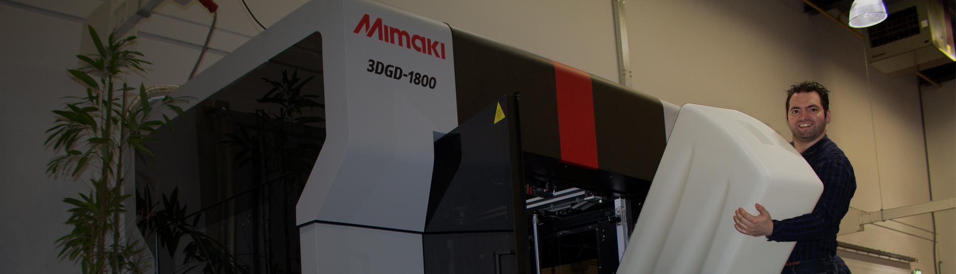 Mimaki punta al settore della stampa 3D con un doppio appuntamento virtuale
