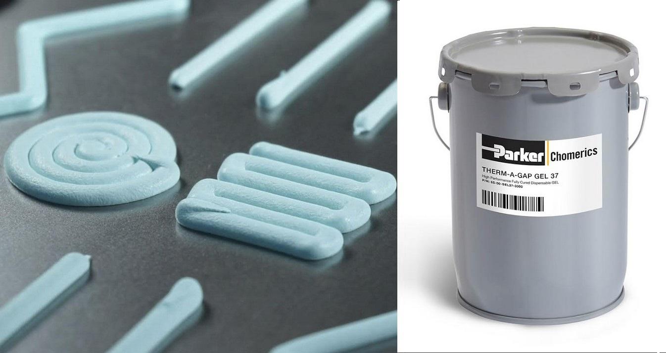 Therm-A-Gap Gel 37 di Parker, la nuova generazione di materiali termoconduttivi monocomponente