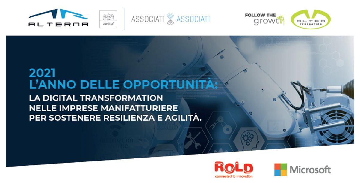 Al via la partnership tra Rold Industrial e Alterna